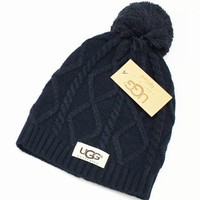 UGG fashion men's and women's knitted cap