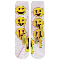 Wax Smile Crew Socks