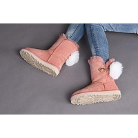 Best Sale Online Fasshion UGG Pink Limited Edition Classics Boots IRINA Women Shoes 10
