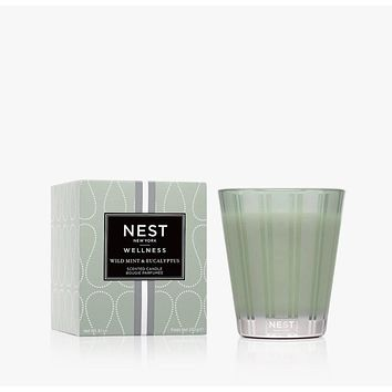Wild Mint & Eucalyptus Classic Candle by Nest