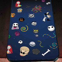 Nightmare Before Christmas Custom for iPhone 4/4s, iPhone 5/5S/5C/6, Samsung S3/S4/S5 Unique Case *76*