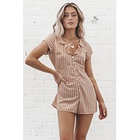 SALTWATER LUXE Emerson Romper - Lovely Stripe