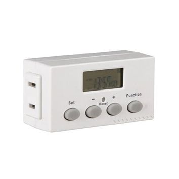 Westek 1-Outlet Digital Timer TE02DHBCAN