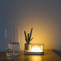 Mountain Color Table Lamp Led Creative Usb Night Light Rechargeable Bedside Lamp Potted Atmosphere Lamp Creative Gift