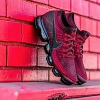 Nike Air VaporMax Flyknit Woman Men Fashion Sneakers Shoes
