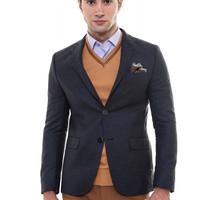 Men's Style Fitted Blazer
