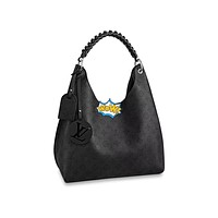 LV Louis Vuitton WOMEN'S Taurillon LEATHER HANDBAG TOTE BAG
