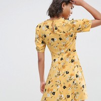 ASOS Tea Dress in Ditsy Floral at asos.com