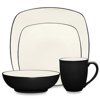 Noritake® Colorwave Square Dinnerware in Graphite