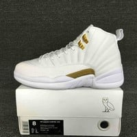 "Duangstyle -Air Jordan 12 Retor ""OVO"" White"