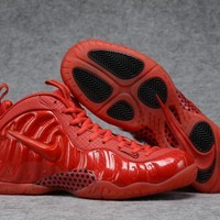 Air Foamposite Pro Red Basketball Shoe Size 40--47