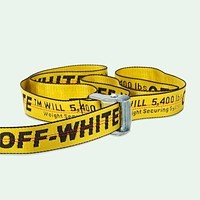 Off-White Trendy Men's & Women's Fashion Belt Belt