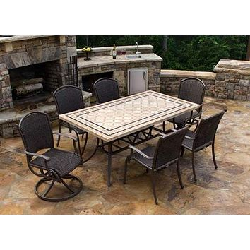 Tortuga Outdoor Marquesas 7-Piece Dining Set
