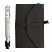 Doctor Who Journal Of Impossible Things With Mini Sonic Screwdriver Pen