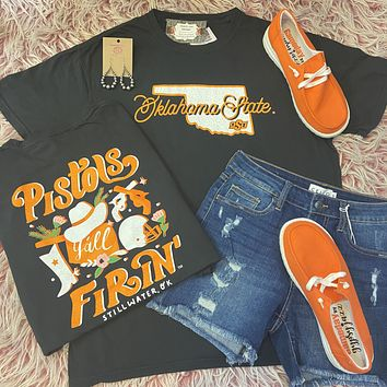 Storyboard Oklahoma State Comfort Colors T-Shirt