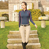 Tredstep Symphony No. 3 Rosa Full Seat Breeches - Full Seat Breeches from SmartPak Equine