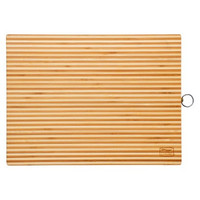 Chicago Cutlery® Woodworks™ 16-Inch x 12-Inch x 1-Inch Bamboo Two Tone w/ Hook
