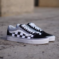 spbest Vans Old Skool  Mix Checker