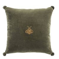 Green Bee Velvet Pillow | Eichholtz Lacombe