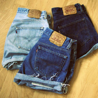 Mystery Vintage Levi's High Waisted Denim Shorts