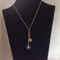 Y Necklace, Evil eye necklace