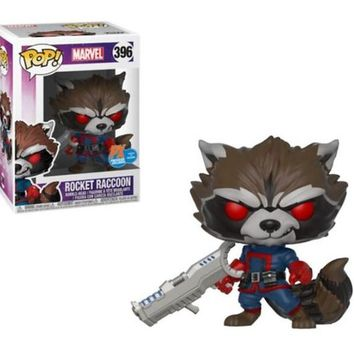 Rocket Raccoon Classic Funko Pop! Marvel Exclusive Not Mint