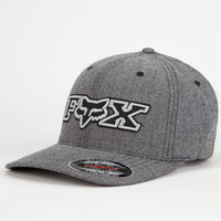 Fox Brushed Mens Hat Charcoal  In Sizes