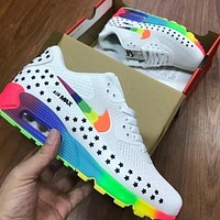 Nike Sneakers Sport Shoes AirMax Rainbow