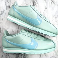 Nike Nike Classic Cortez Forrest Series Mint green+blue hook