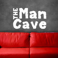 Wall Decal The Man Cave Vinyl Wall Decal 22233
