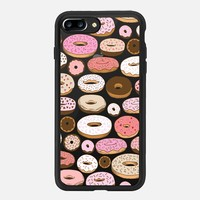 iPhone 7 Plus Case (Jet Black), Donuts Forever by Kristin Nohe Juchs   Casetify (iPhone 6s 6 Plus SE 5s 5c & more)