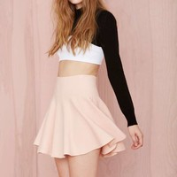 Cream of the Crop Skirt - Blush