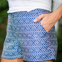 The Big Picture Shorts, Navy