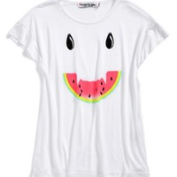 Toddler Girl's Flowers by Zoe 'Watermelon Face' Graphic Tee,
