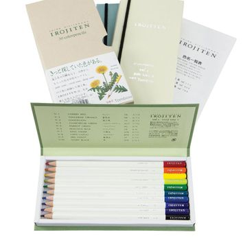 Irojiten Colored Pencil Dictionary - Set of 30