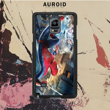 The Amazing Spiderman Poster Samsung Galaxy Note 4 Case Auroid