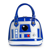 Star Wars R2-D2 Blue/White/Silver Patent Dome Bag - Bags