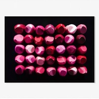 Offset for west elm Print - Lipstick by James Worrell