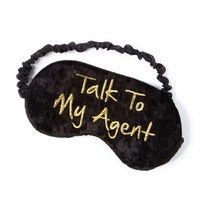 Talk to My Agent Sleep Mask  | Claire's