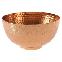 "Etched Bowl - Copper (8""x4.25"")"