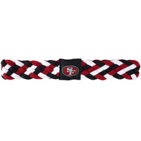 San Francisco 49ers NFL Braided Head Band 6 Braid