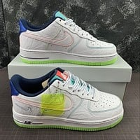 Morechoice Tuhz Nike Air Force 1 Low Bg Outside The Lines Sneakers Casual Skaet Shoes Cv2421-100