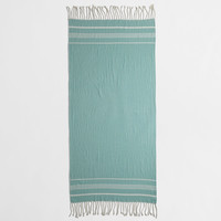 FACTORY BEACH TOWELS WITH FRINGE