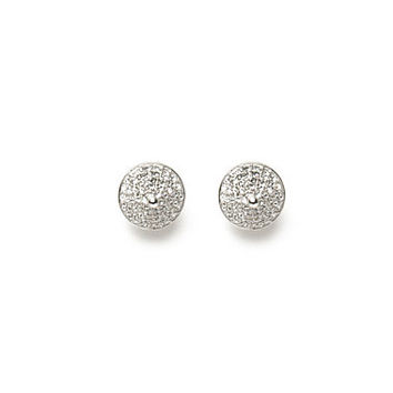Pave Cone Stud Earring