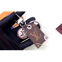 LV multi-function keychain Coffee