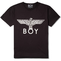 Black/White Boy Eagle T-Shirt