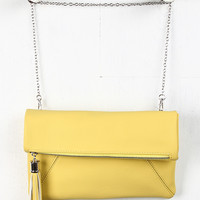 Tassel Flap Chained Crossbody Bag