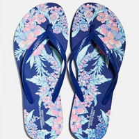 's Printed Rubber Flip Flop