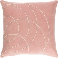 Solid Bold Throw Pillow Purple, Neutral