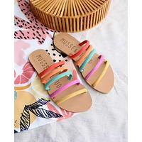 Musse & Cloud - Jazzy Slip On Sandals in Multi